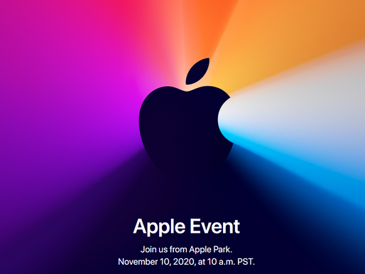 Apple's November 10 Event - What to expect?