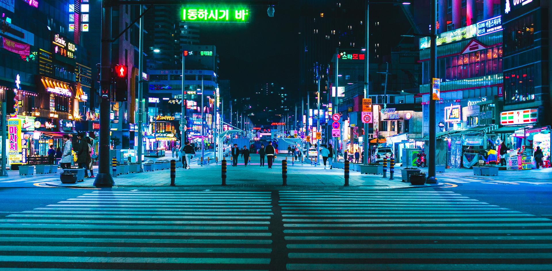 Haeundae Night View