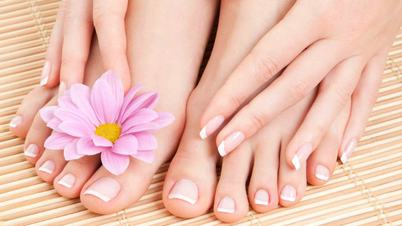 Classic Manicure and Deluxe Pedicure