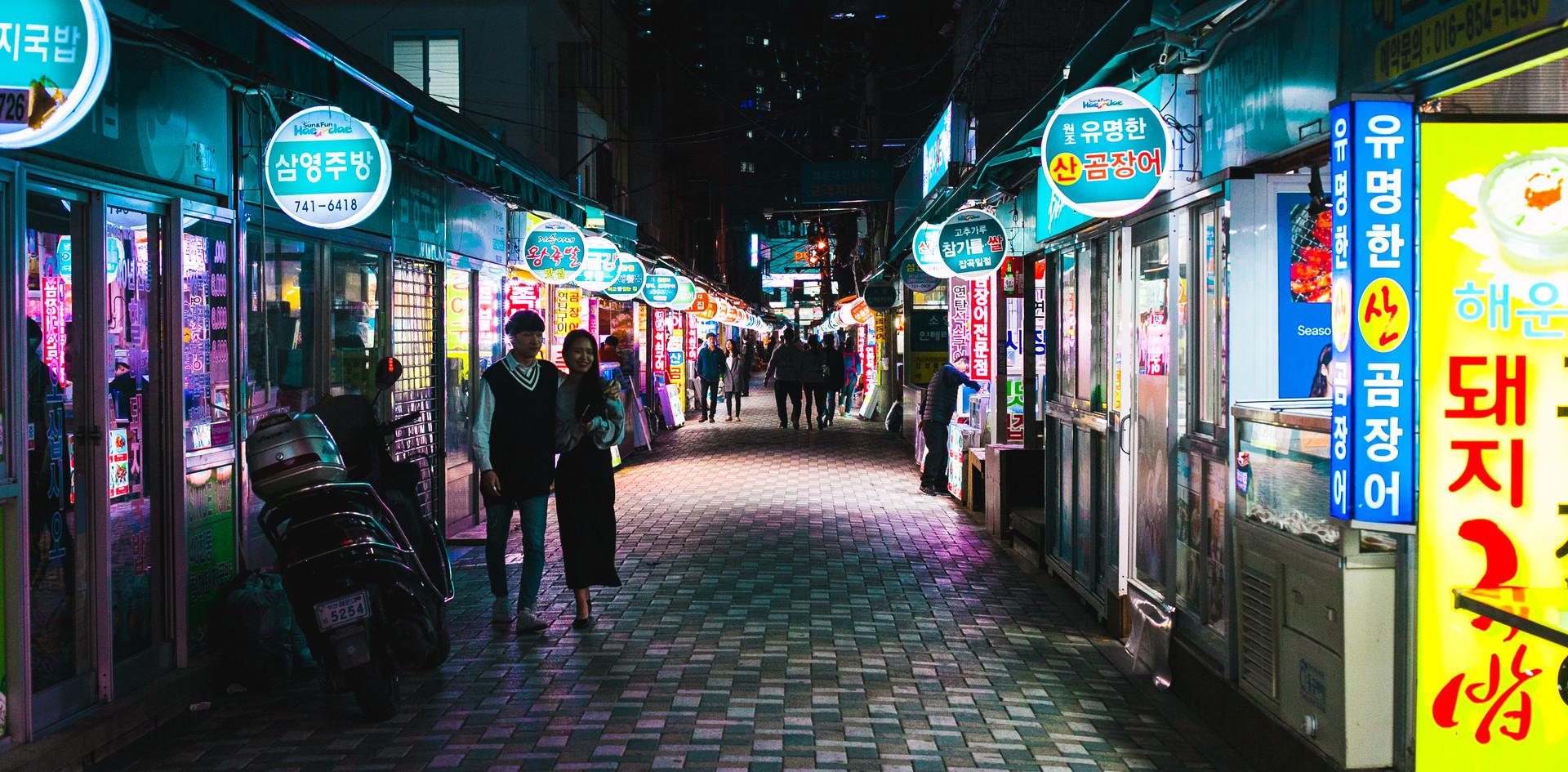 Night Market Views