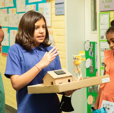Middle School is a time of transition, when we focus on subjects and activities that prepare students to develop into members of society who are self-confident, respectful and eager to learn.