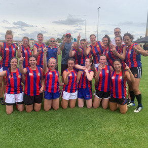 Kingsley Women's Take out AFLX Tournament