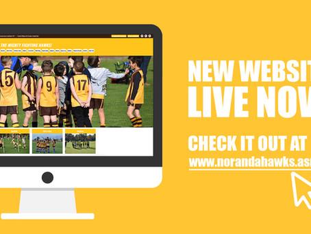 New Hawks Website!