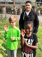 Aiden, Kaylin and Branden in garden.jpg