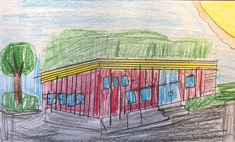 Mikey's drawing of Ives School 9-2018_ed
