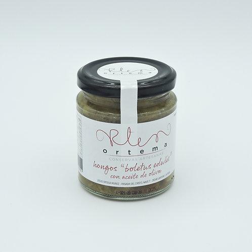 """Hongos """" boletus edulis  """" en aceite de oliva"""