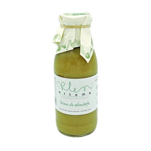 """""""Novedad"""" Crema de alcachofa botella de 500 ml"""