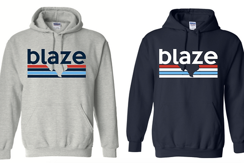 CLOSEOUT BLAZE HOODIE