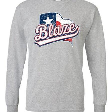 Blaze Flag Longsleeve T-Shirt
