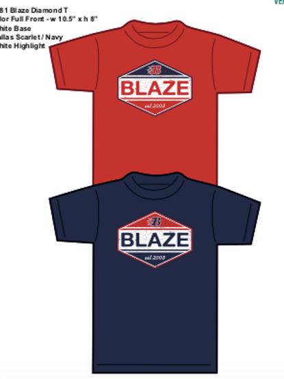 BLAZE DIAMOND T-SHIRT