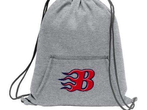Blaze Fleece Drawstring Bag