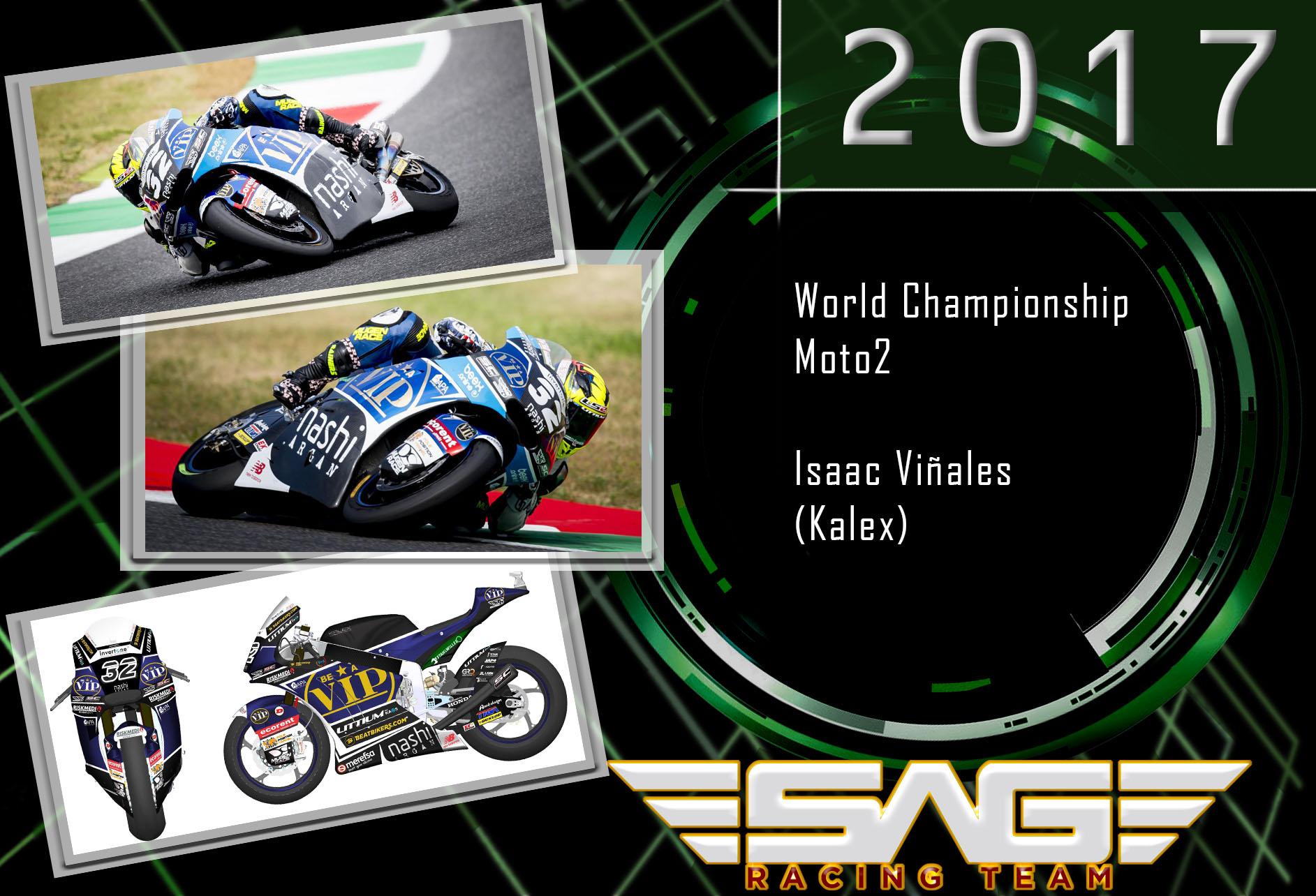 Isaac Viñales - Moto2 Rider