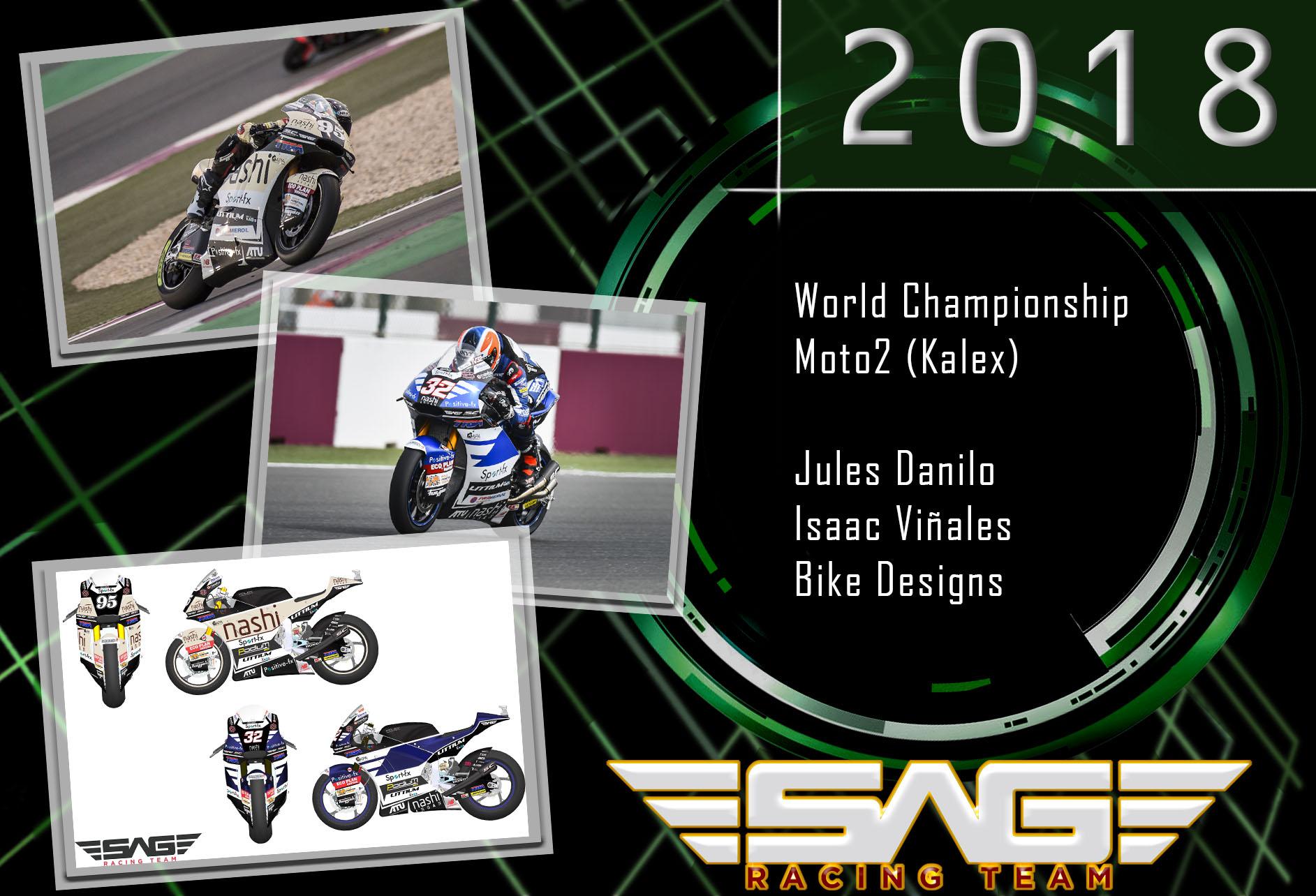 Jules Danilo & Isaac Viñales Moto2 Riders