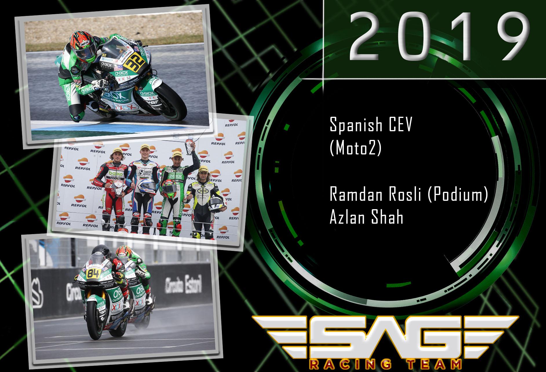 Ramdan Rosli & Azlan Shah (CEV riders)