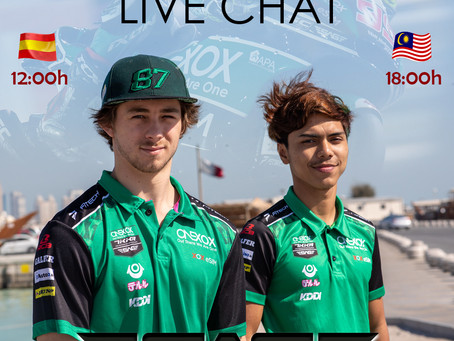 LIVE CHAT with Remy Gardner and Kasma Daniel