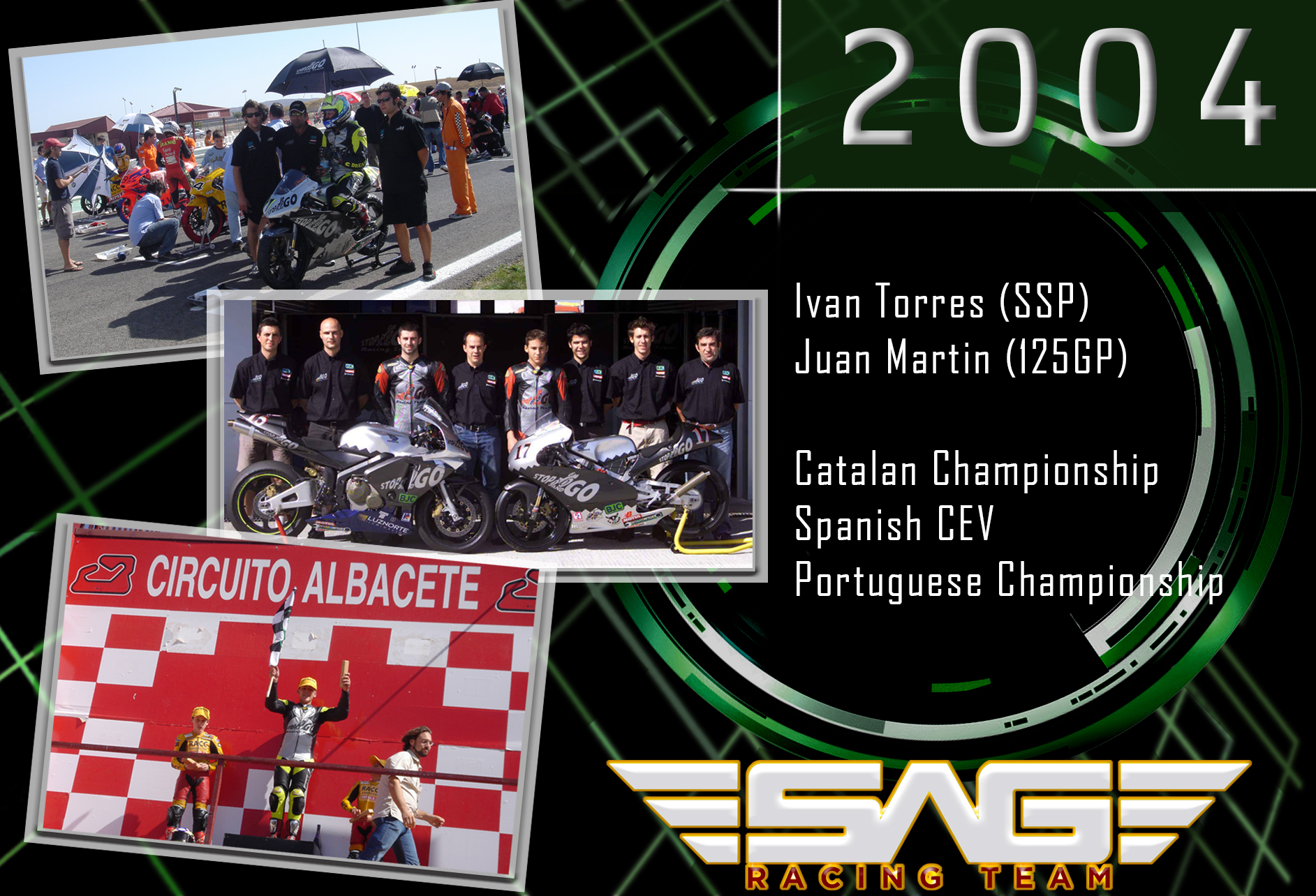 Riders in CEV and Catalan Championship