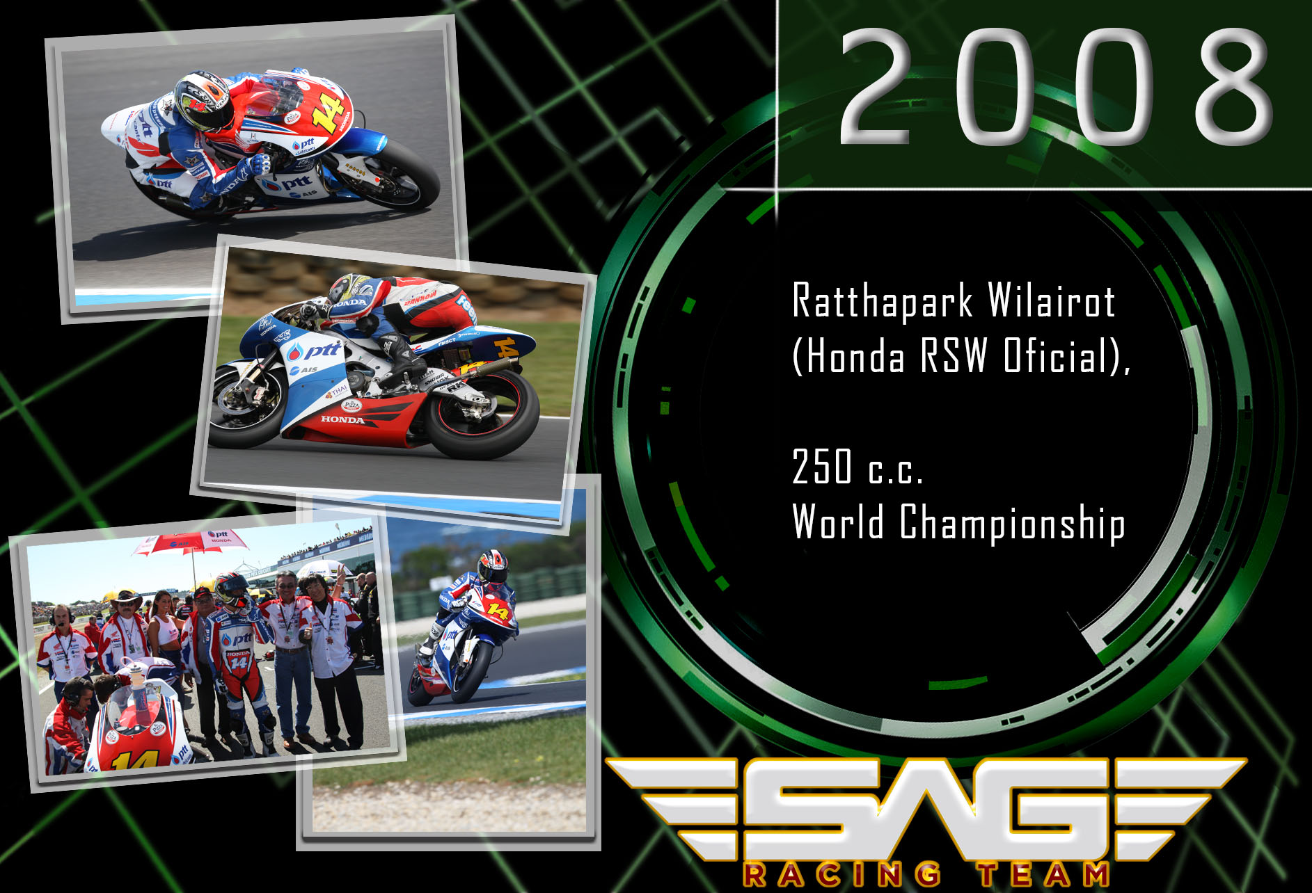 World Championship rider (250cc)