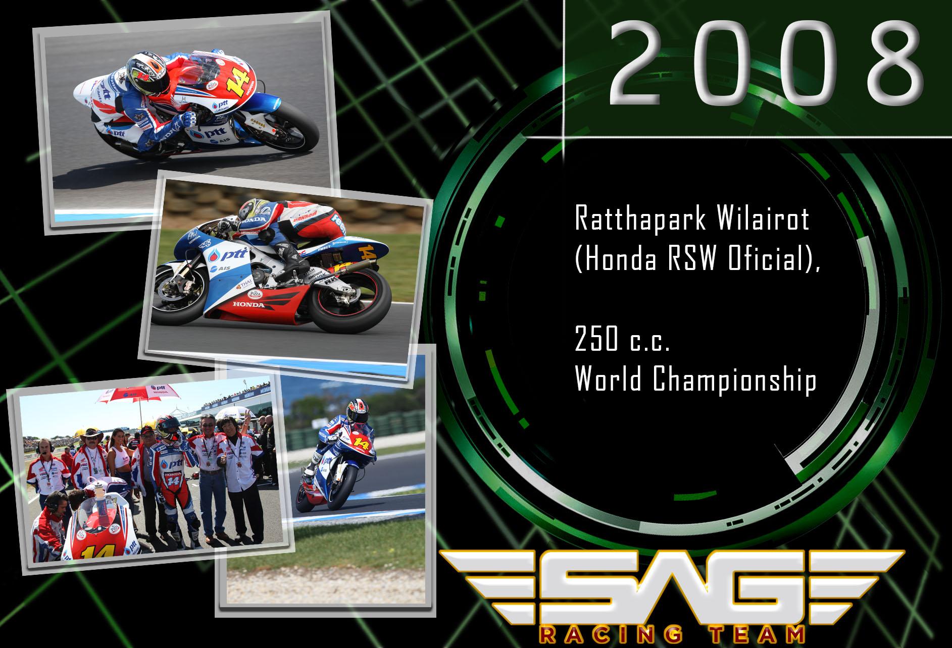 World Championship rider (250cc)
