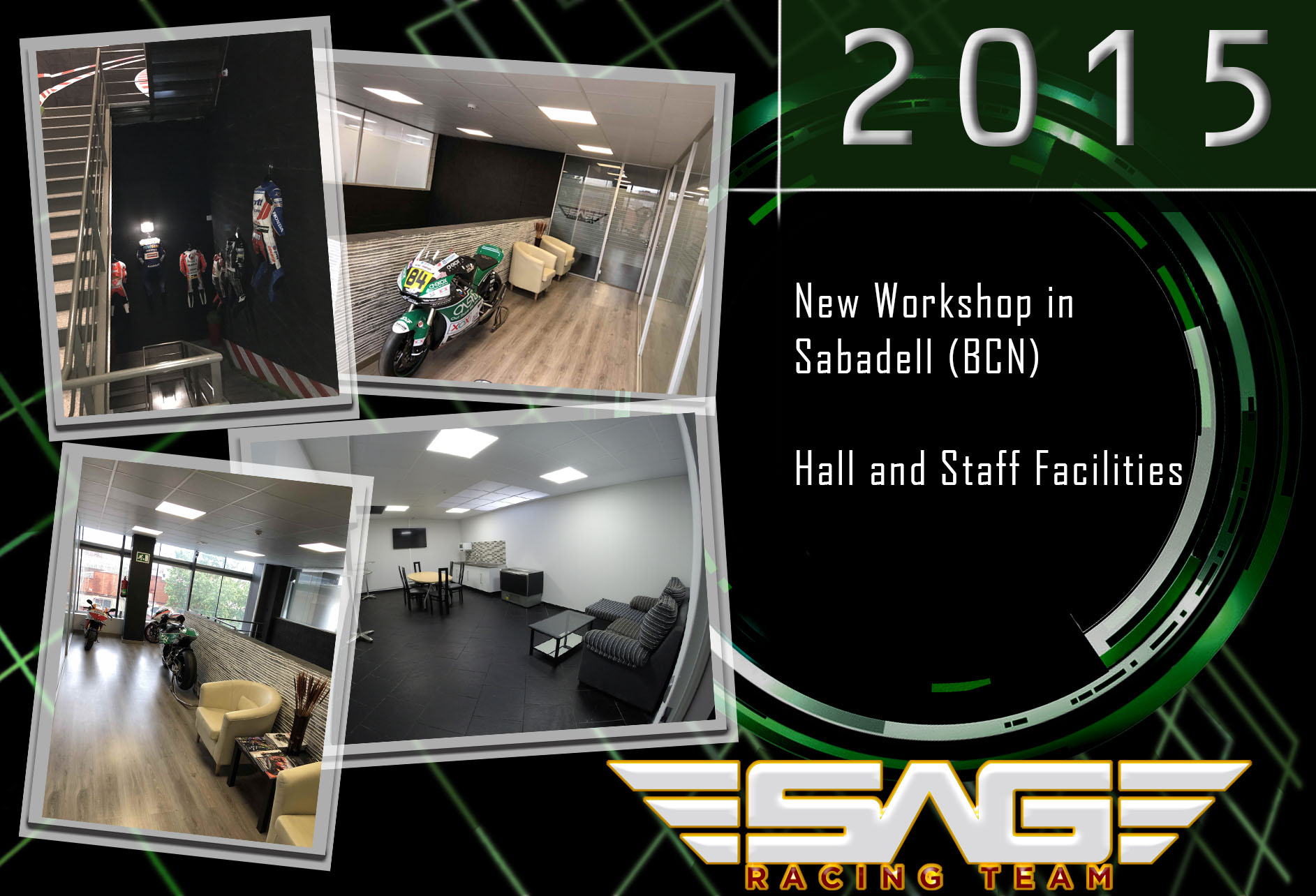 Hall and staff facilities