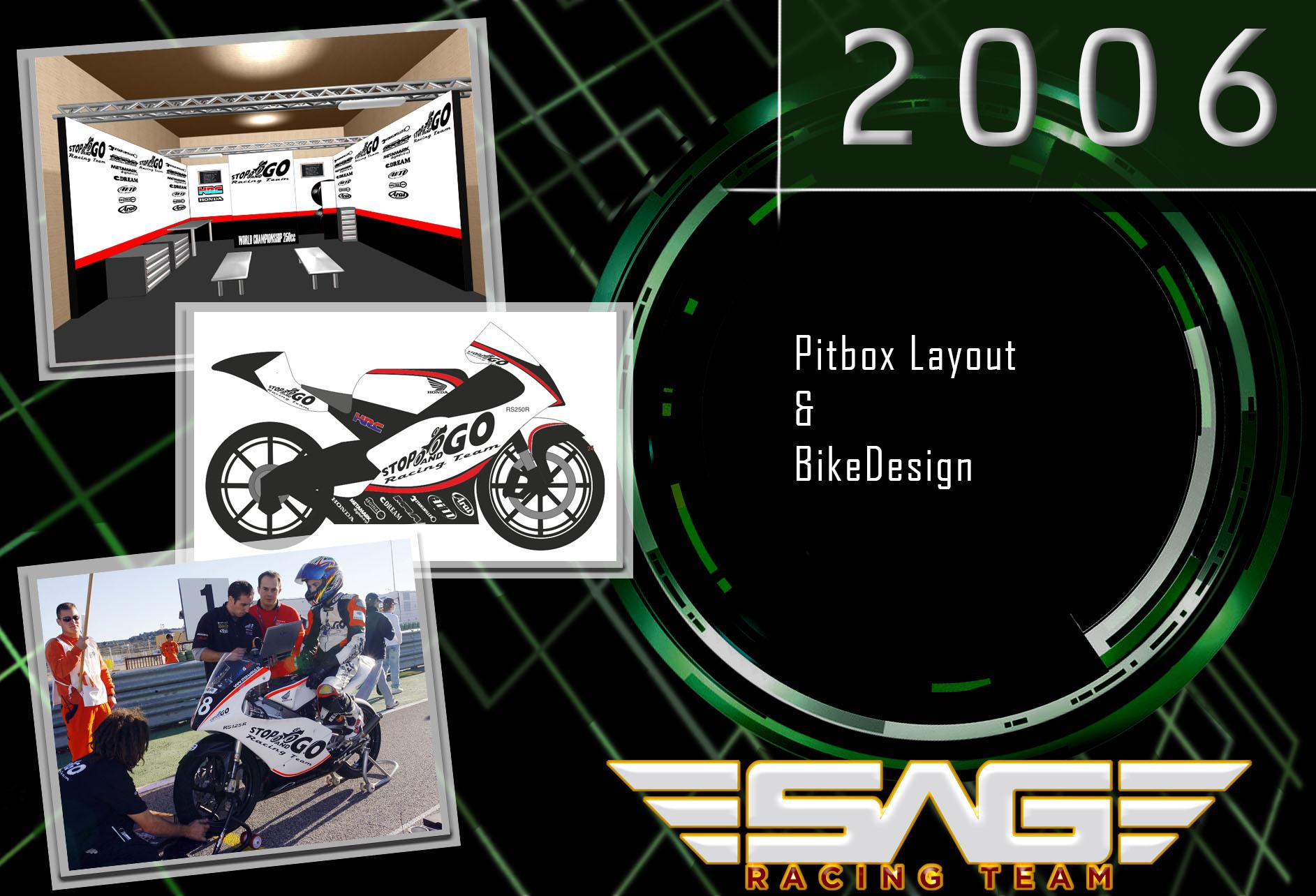 Pitbox & Bike