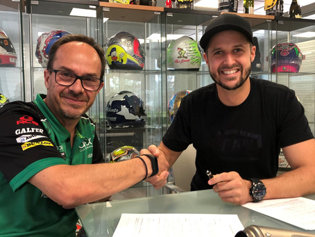 Thomas Lüthi joins the ONEXOX TKKR SAG TEAM in 2021