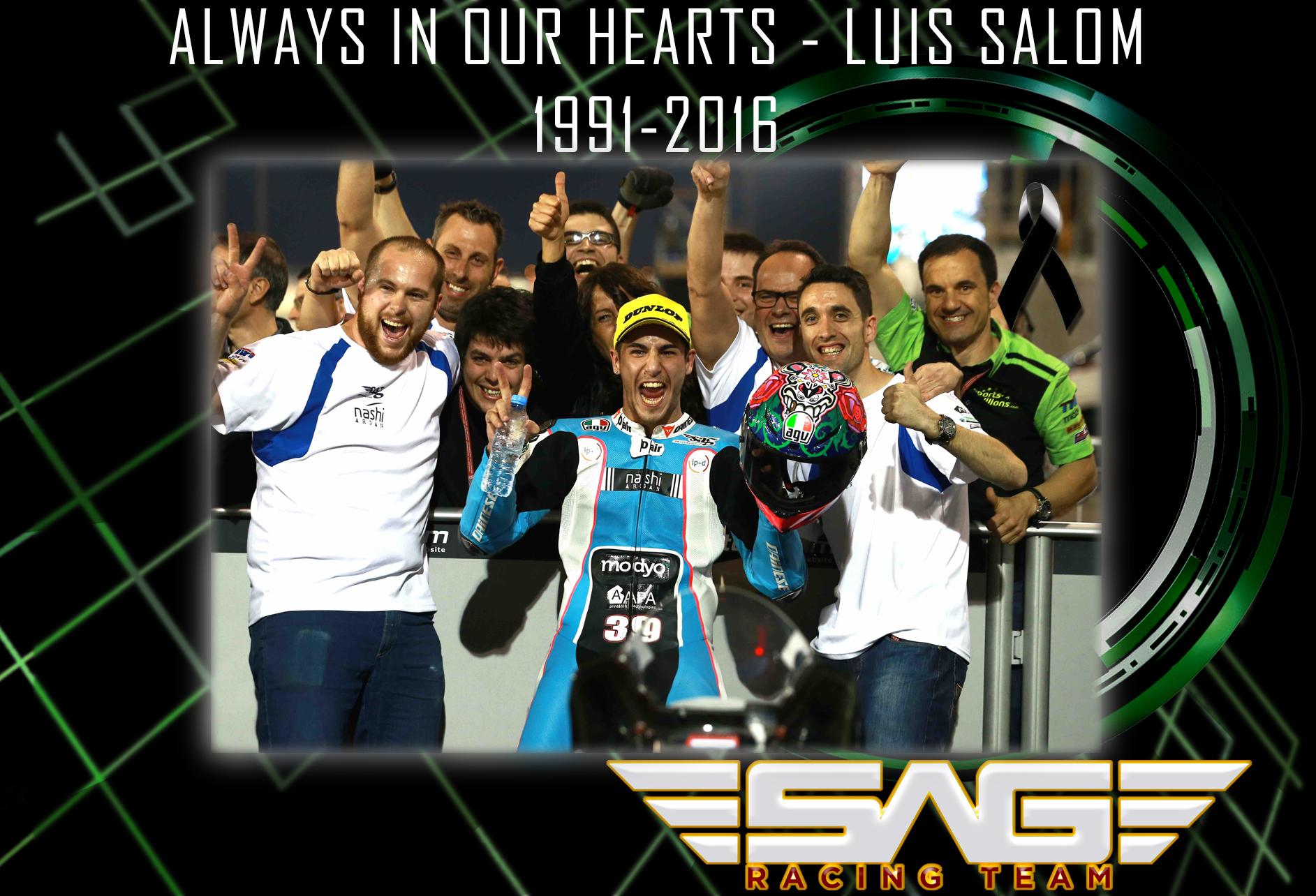 Luis Salom - Race in Peace