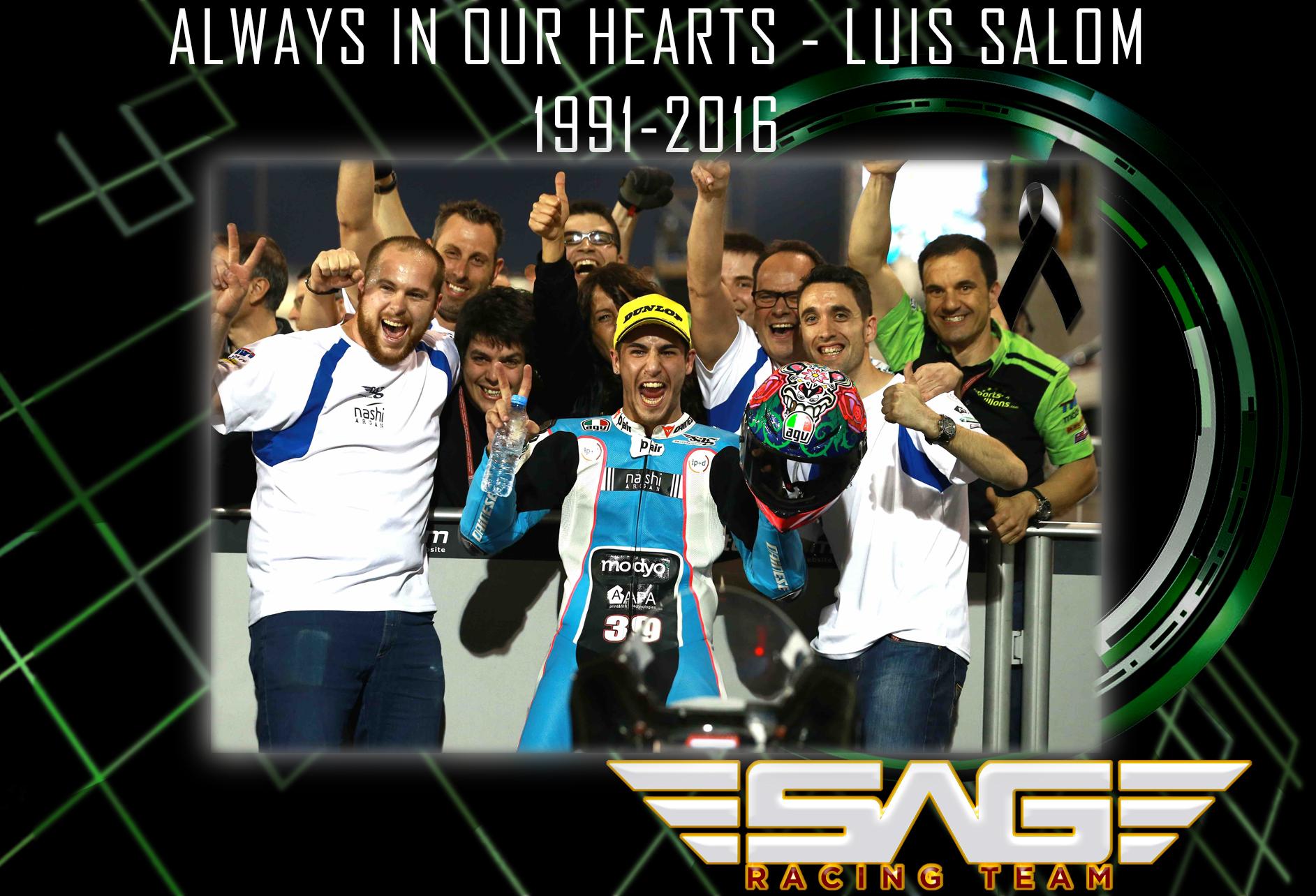 Luis Salom - Race in Peace
