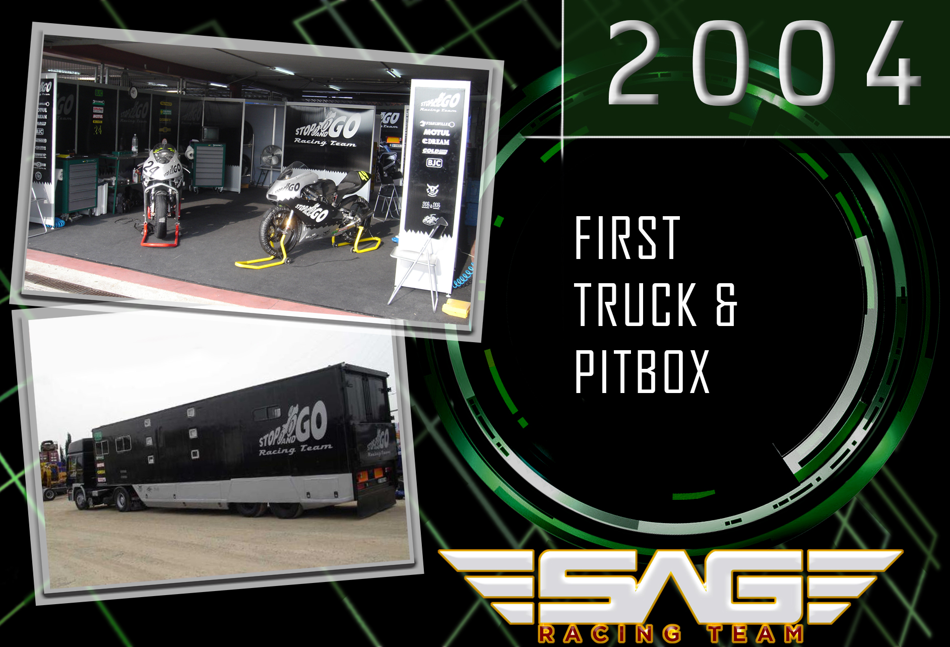 First Truck & Pitbox