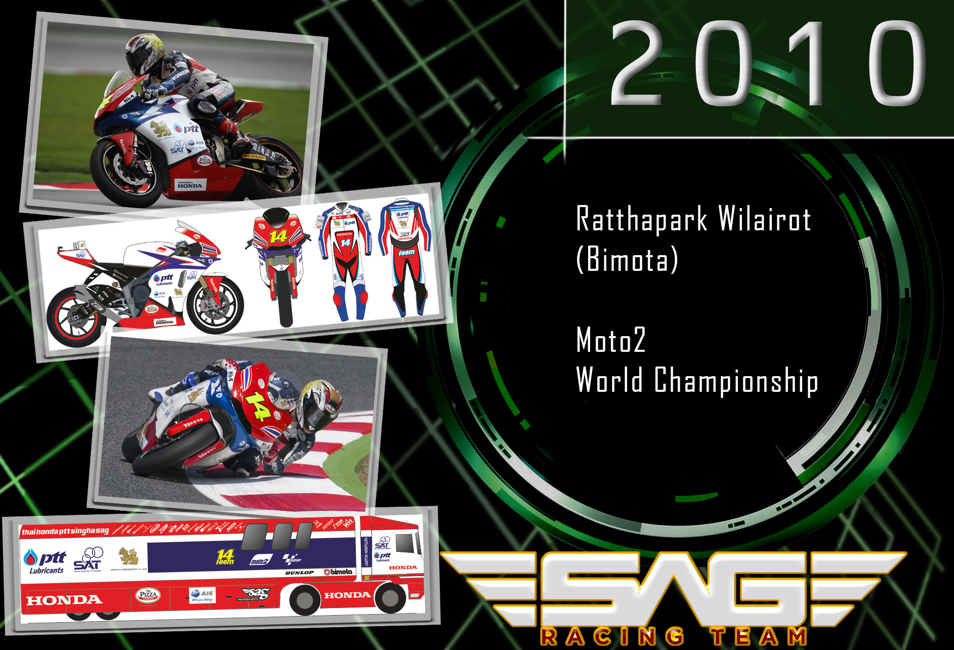 World Championship rider Ratthapark Wilairot