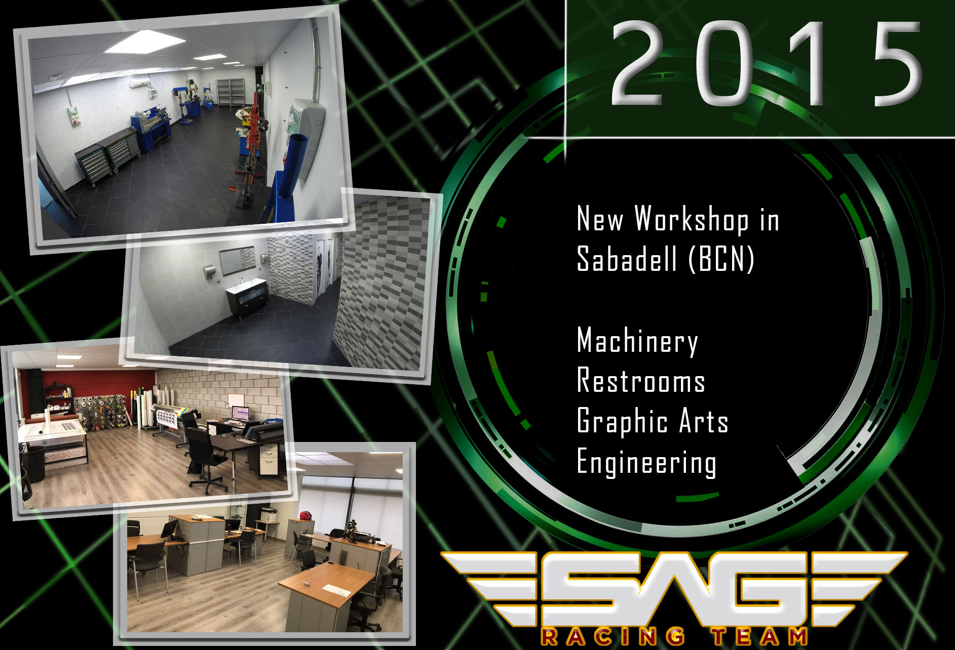 Machinery, Graphic Arts & Restrooms