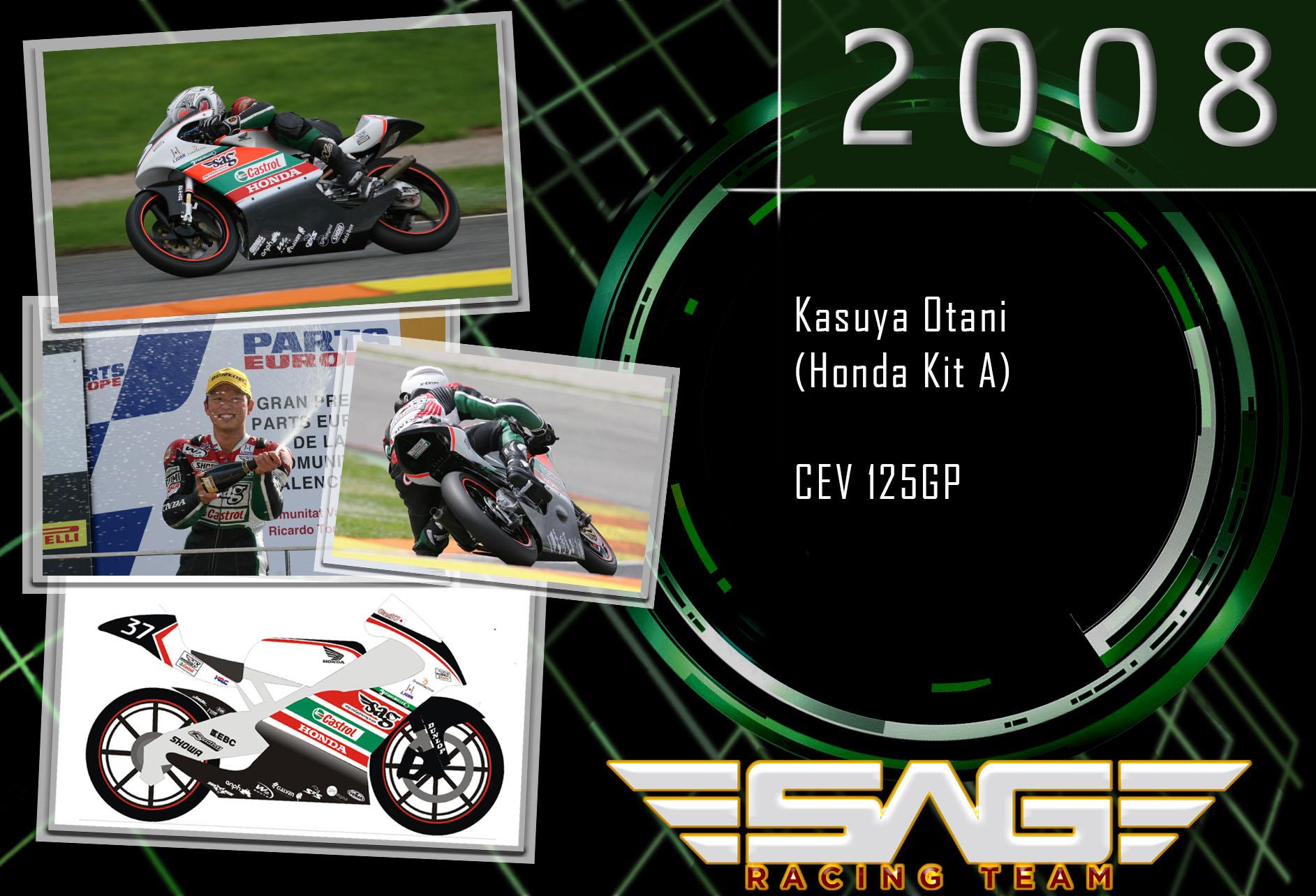 CEV rider Kasuya Otami (125GP)