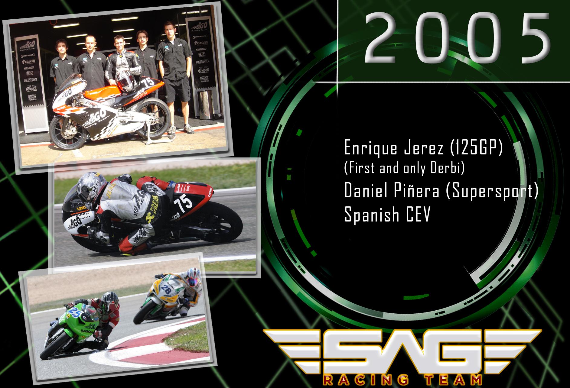 CEV Riders Enrique Jerez & Daniel Piñera