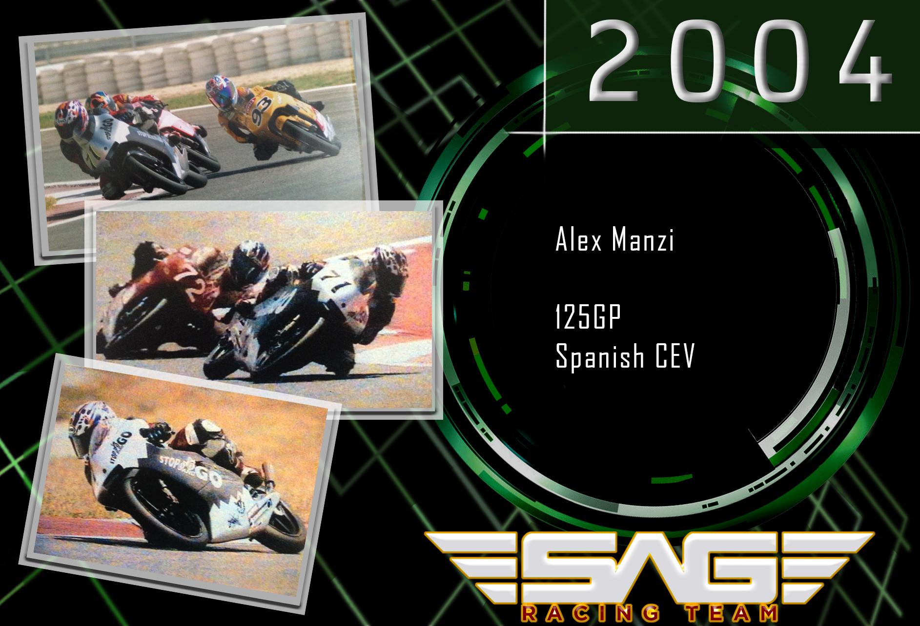 CEV Rider Alex Manzi (125GP)