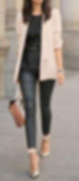 btq pinterest black and blush outfit.jpe