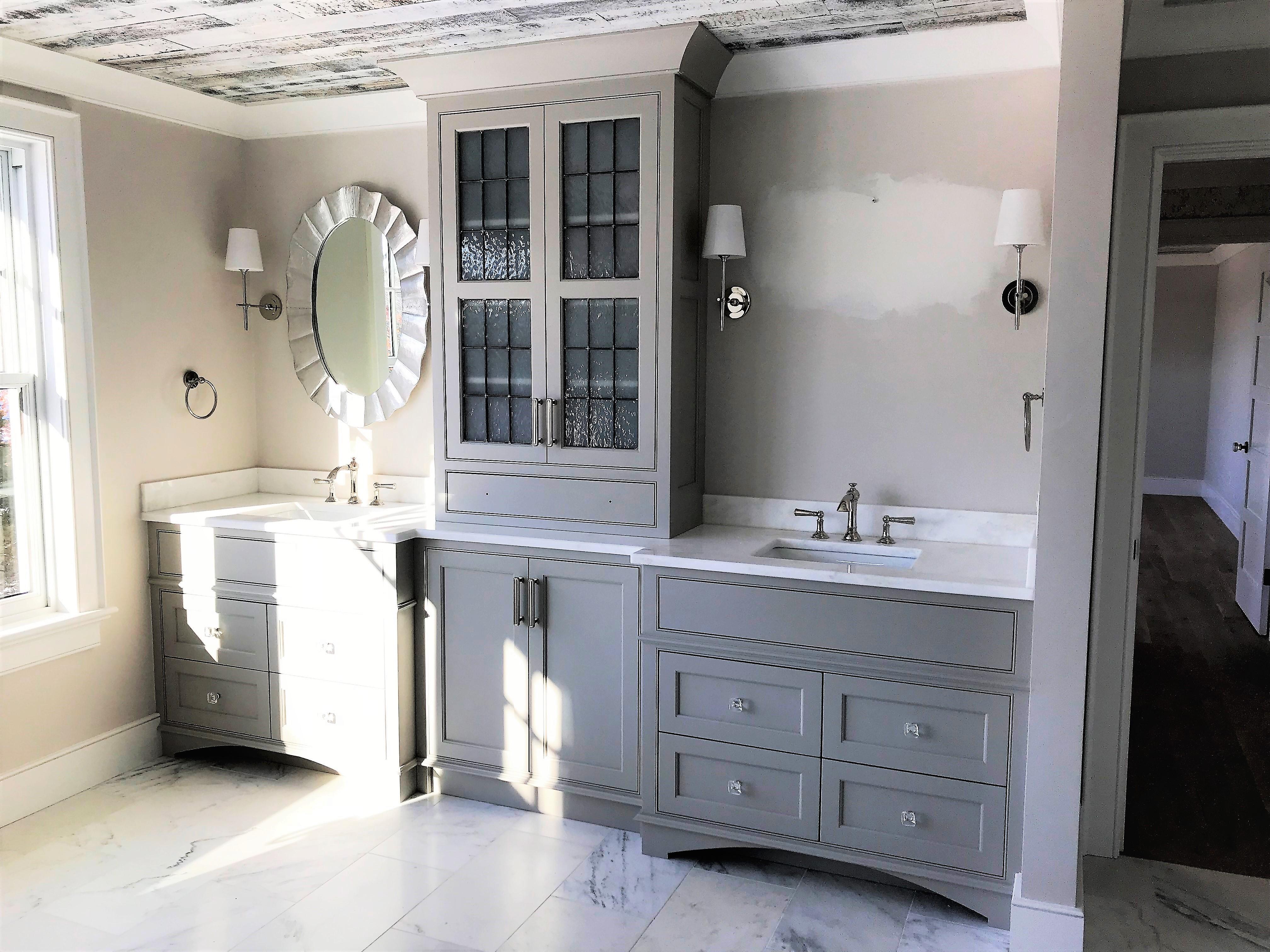 Newburyport master vanity