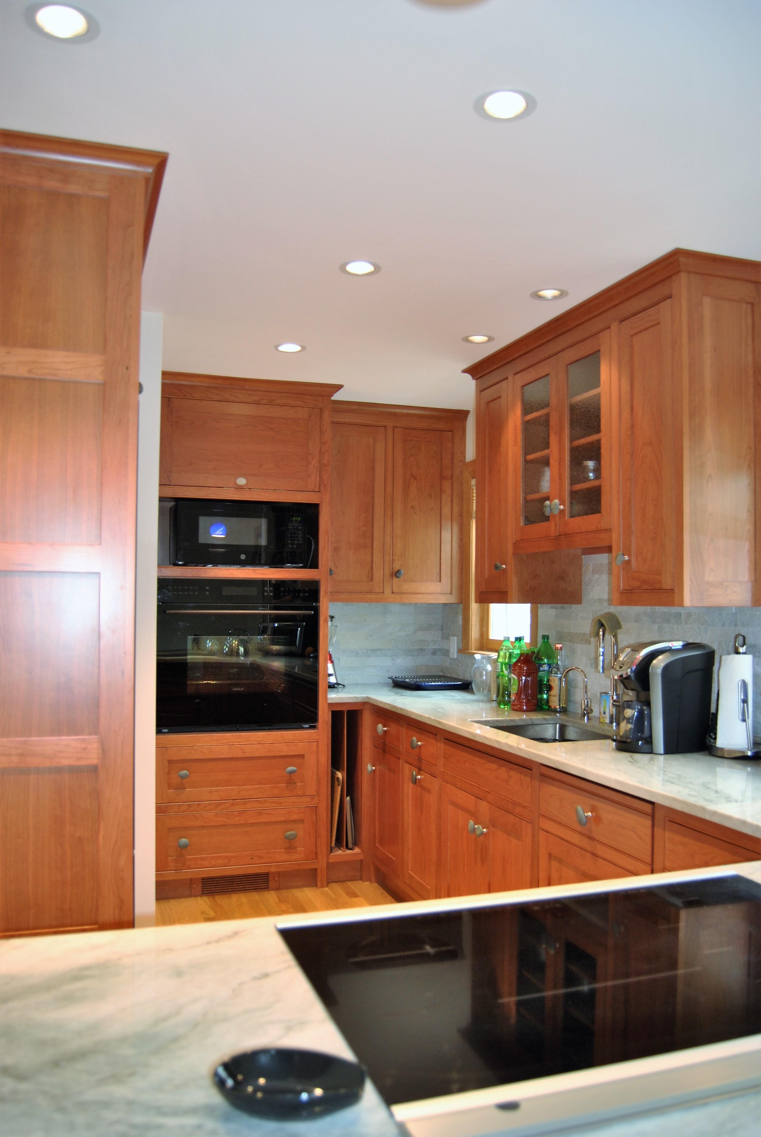 Cherry kitchen