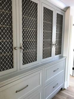 Newburyport linen cabinet