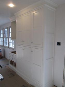 Storage unit in kitchen