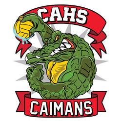 CAHS Caimans Water Polo Team