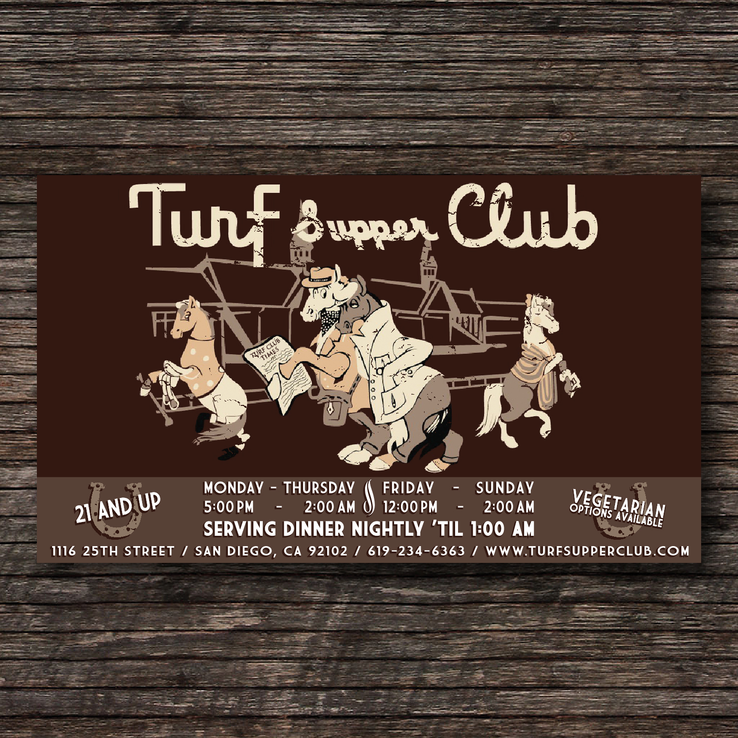Turf Supper Club.