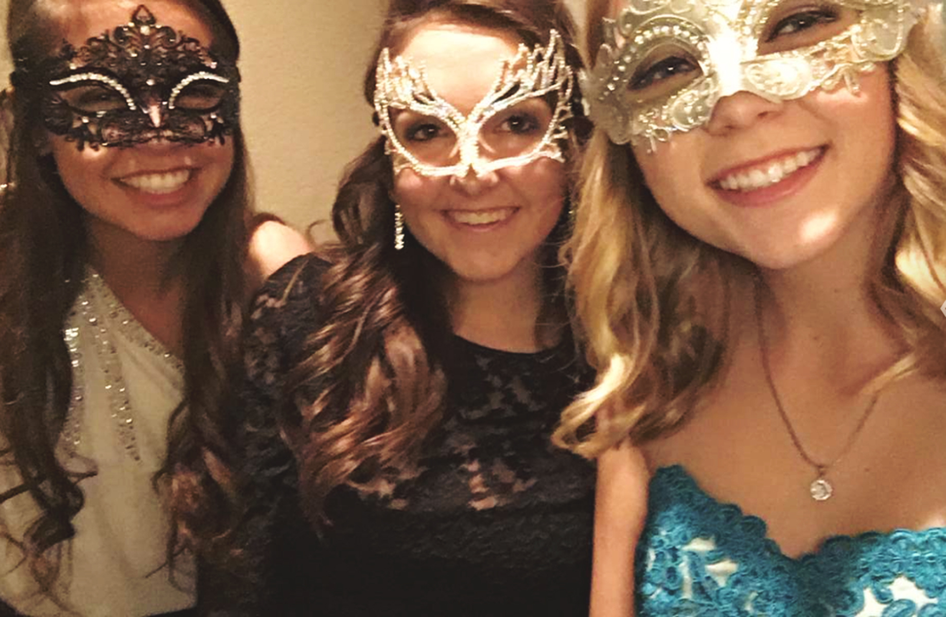 Sweet 16 Masquerade Ball.