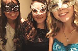 Sweet 16 Masquerade Ball.