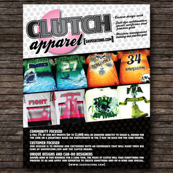 Clutch Apparel.