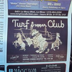 Turf Supper Club.