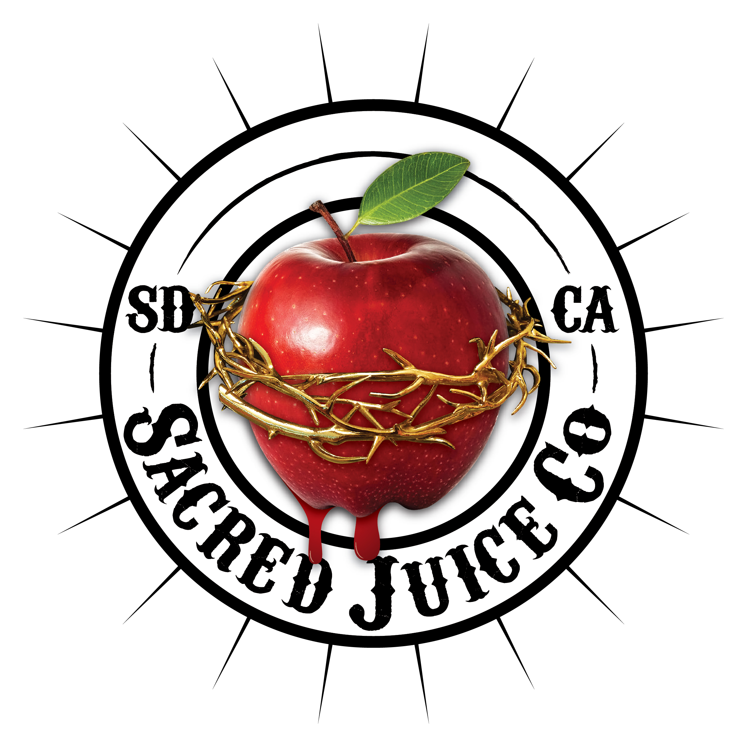 Sacred Juice Co., Branding Update.