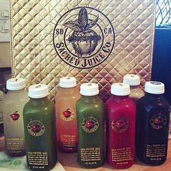 Sacred Juice Co., Branding Update.