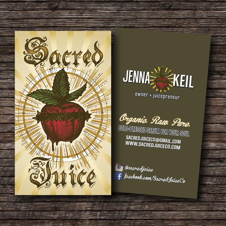Sacred Juice Company.