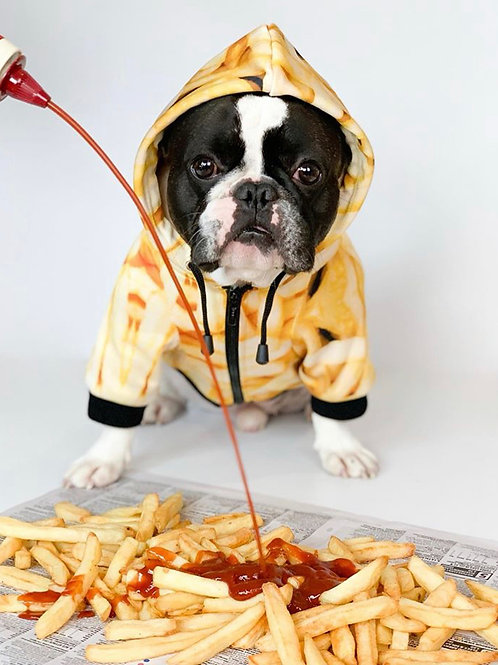 French Fry Zip Up Hoodie