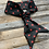 Thumbnail: Black and Red Polka Dot Knotted Scarf
