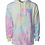 Thumbnail: Tie Dyed Paw Print Heart Hoodie in 2 colors